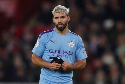 Kata Striker Manchester City Sergio Aguero Soal ke Independiente
