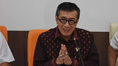 KPK to Follow Up ICW's Report on Yasonna Laoly