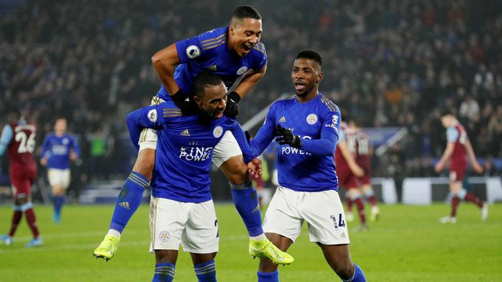 Leicester City Cement Third Spot with 4-1 Win Over West Ham