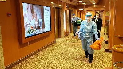 Japan Quarantines Cruise Ship over Coronavirus