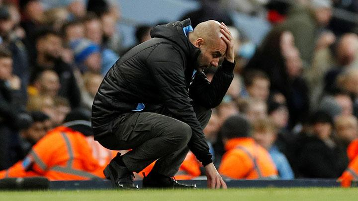 Pep Guardiola. REUTERS/Phil Noble