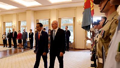 Jokowi Invites Australia to Develop Renewable Energy
