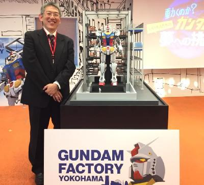 Life-size Gundam to Have 24 Joints, Says Engineer