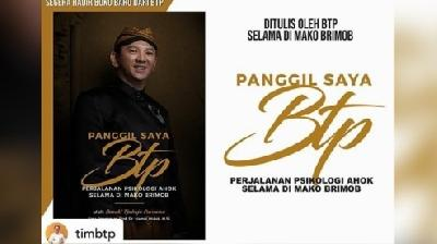 Ahok Speaks Up on Marriage Collapse in 'Panggil Saya BTP' Book