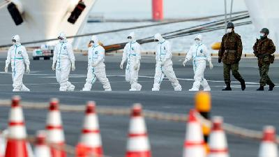 Coronavirus Cases in Japan's Diamond Princess Cruise Climb to 175