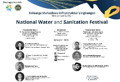 ITB Gelar National Water and Sanitation Festival Sabtu Ini