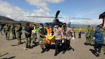 Bad Weather Caused MI-17 Chopper to Crash in Papua: TNI Official