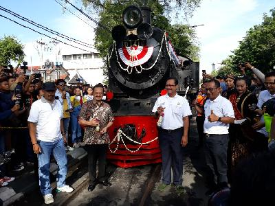 Surakarta to Operate 99-year Old Steam Train for Tourism