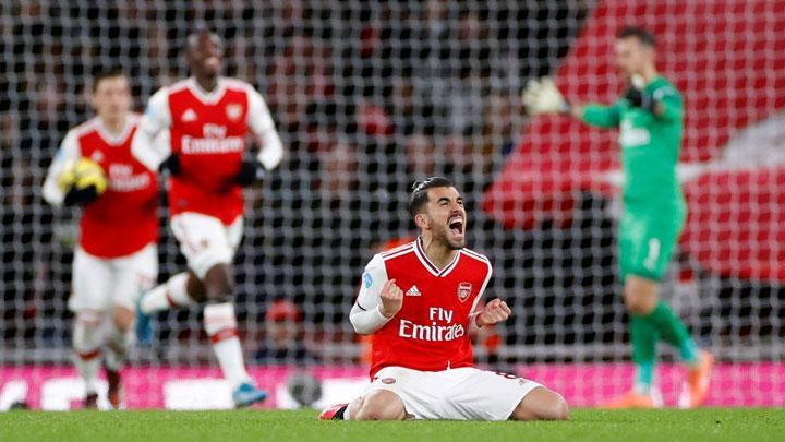Arsenal Gilas Newcastle United 4-0