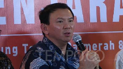 Rumors Say Ahok May Lead New Capital City
