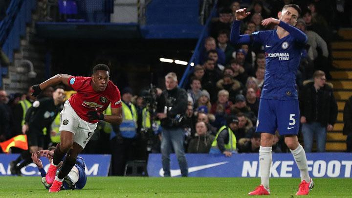 Manchester United Win 2-0 at Chelsea amid VAR Controvesy
