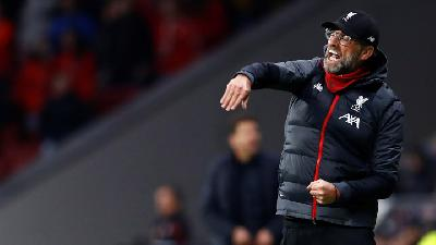 Klopp Hits Out at Atletico's Negative Play after Defeat