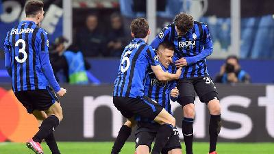 Atalanta Thrash Valencia in Champions League quarters