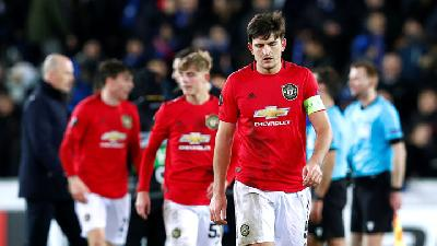 Bos Manchester United Optimis Harry Maguire Sembuh Sebelum Final Liga Europa