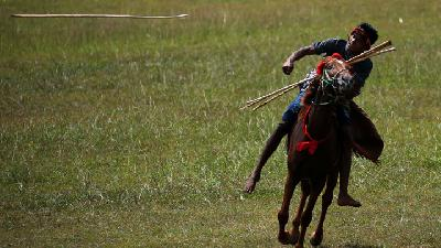 Images of Pasola War Festival in West Sumba, Indonesia