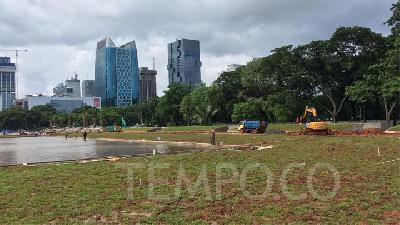 Monas Revitalization: Govt Claims to Have Planted 573 New Trees