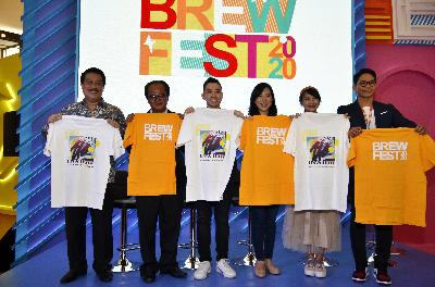 Brewfest 2020, Urban Coffee & Tea Festival Pertama Di Indonesia Dibuka