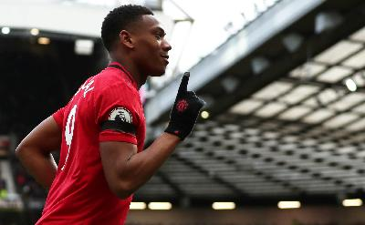 Tantangan Anthony Martial, Ujung Tombak Manchester United