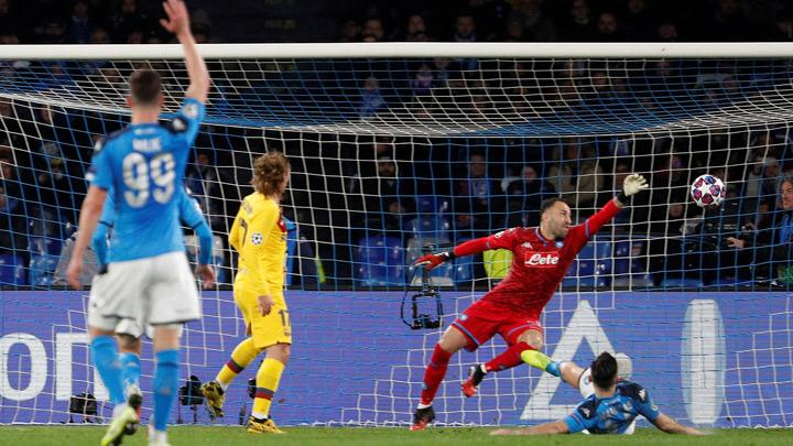 Precious Griezmann Goal Earns Barcelona Draw at Spirited Napoli