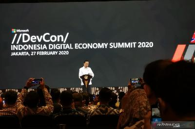 Jokowi: 9 Million 'Digital Talents' Needed in Digital Transformation