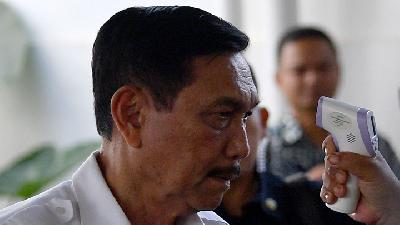 Luhut: People Going 'Mudik' Will Carry Coronavirus