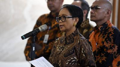 Retno Marsudi: Protection of WNI Doesn't Get Easier