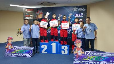 Yamaha Indonesia Berambisi Menang di World Technician Grand Prix