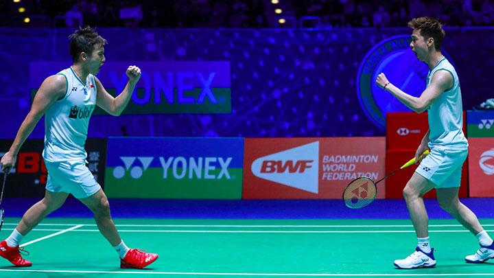 Kevin / Marcus Raih TIket Final All England 2020