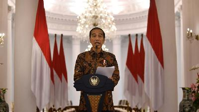 Jokowi: COVID-19 Social Aid for Immediate Distribution