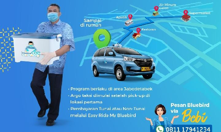 PT Blue Bird memperkenalkan program layanan Bluebird COD (Chat-Order-Delivery)