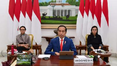 Jokowi Plans Large Scale Social Restrictions Policy