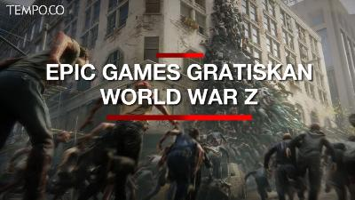 Wabah Corona, Epic Games Gratiskan World War Z Sampai 2 April