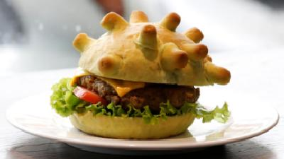 Hanoi Chef Spreads Joy with 'Coronaburger'