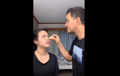 Raisa Dirias Hamish Daud, Eye Shadow-nya Bikin Terkesan