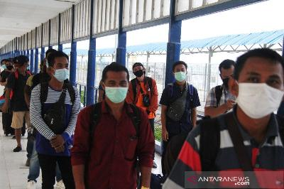 500 Migrant Workers Arriving in Medan Set to be Quarantined