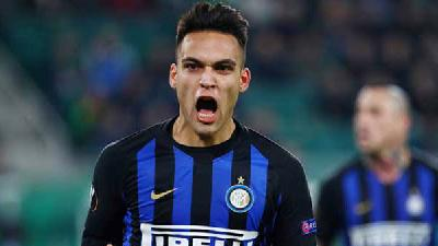 Martinez Solo Goal Completes Inter Win over Napoli