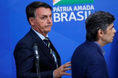 Brazil President Bolsonaro Tests Positive for Coronavirus