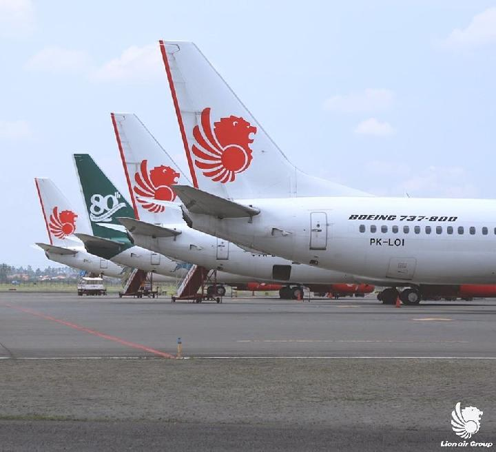 Ilustrasi Lion Air Group. Foto: @lionairgroup