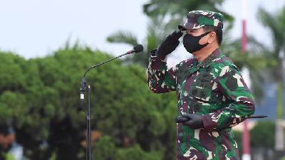 TNI Chief on Inpres on Health Protocol Enforcement: COVID-19 Yet to Flatten