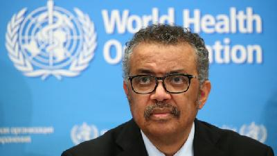 Indonesian Delegates Hold Meeting with WHO DG Tedros Adhanom Ghebreyesus