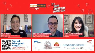 SATU Indonesia Awards 2020 Gelar Diskusi Online