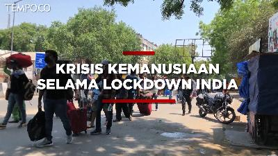 Krisis Kemanusiaan Selama Lockdown India
