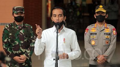 Jokowi Asks Strategic Projects to Be Continued despite Pandemic