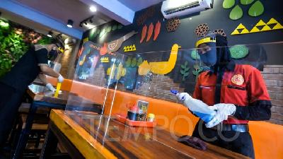 Restoran Bersiap Sambut New Normal