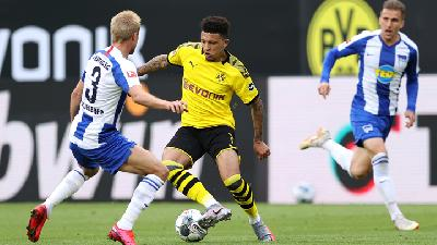 Dortmund Beri Man United Ultimatum Soal Transfer Jadon Sancho.html