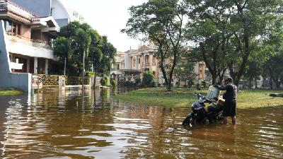 North Jakarta Partners with Private Sector in Flood Mitigation