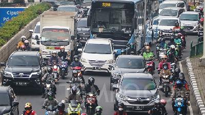 Jakarta Sees Similar Private Vehicle Users Number as before Covid