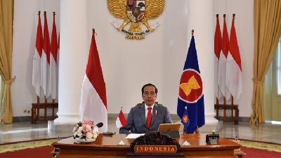 Jokowi Talks of Support for Palestine Independence in 75th UN General Assembly