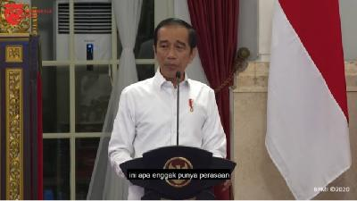 Jokowi: Upper-middle Income Country Status a Chance to Go Forward