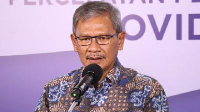 Achmad Yurianto Objects to Status of Health Ministry as COVID-19 Cluster